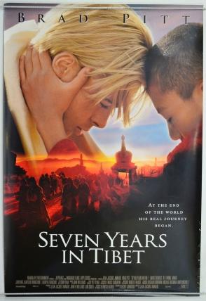 seven years in tibet - cinema one sheet movie poster (1).jpg